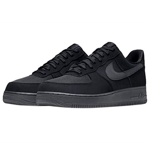Nike Air Force 1'07 Men's Shoe - Black Image
