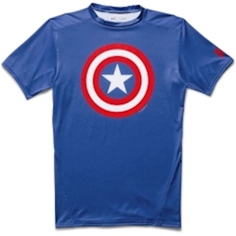 Under Armour  Alter Ego Compression  men's T shirt in blue Image