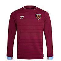 80ef58f3c Umbro West Ham United Kids LS Home Shirt 2018 19