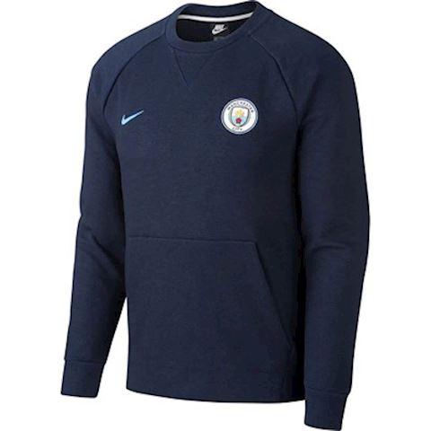 Nike Manchester City FC Men's Long-Sleeve Crew - Black Image