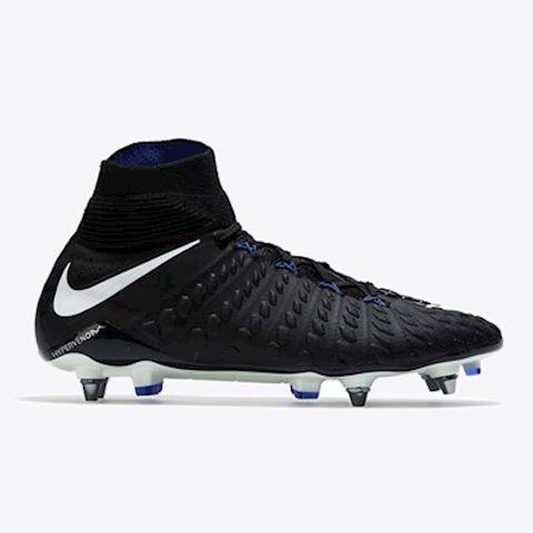 the latest ffd2a b42bd Nike Hypervenom Phantom III DF Flyknit SG Football Boots Black