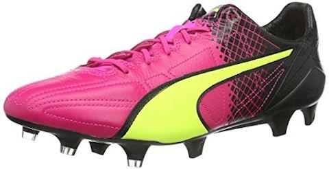 Puma evoSPEED II SL Leather Tricks FG Pink Glo Safety Yellow Black Image