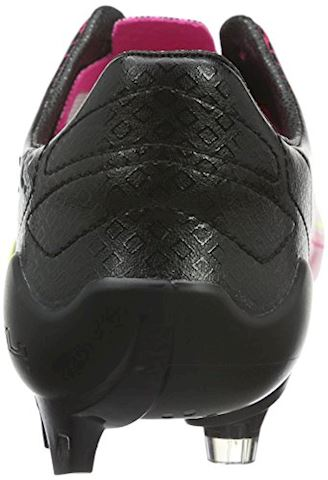 Puma evoSPEED II SL Leather Tricks FG Pink Glo Safety Yellow Black Image 2