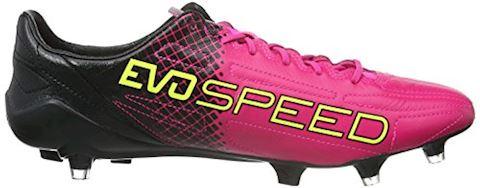Puma evoSPEED II SL Leather Tricks FG Pink Glo Safety Yellow Black Image 7