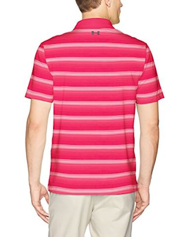 Under Armour Men's UA CoolSwitch Bermuda Stripe Polo Image 2