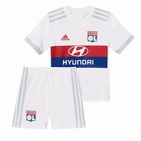 adidas Lyon Kids SS Home Mini Kit 2017/18 Image