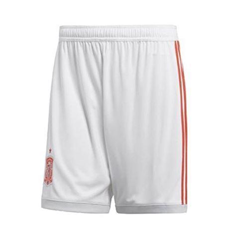 adidas Spain Mens Away Shorts 2018 Image 4