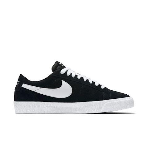 Nike SB Blazer Zoom Low Men's Skateboarding Shoe - Black Image 2