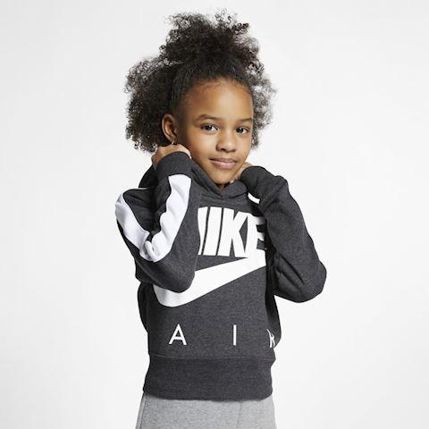 Nike Air Older Kids' (Girls') Cropped Hoodie - Black Image
