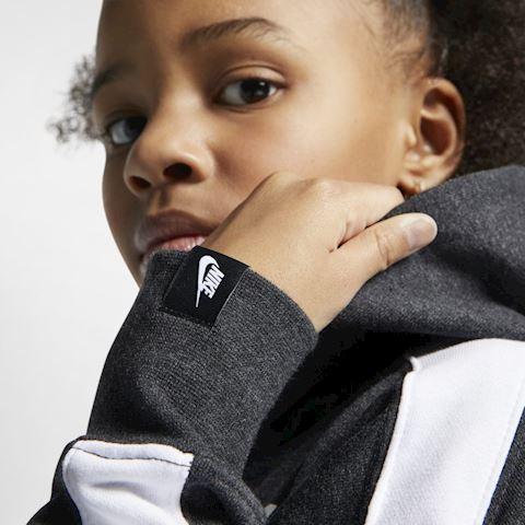 Nike Air Older Kids' (Girls') Cropped Hoodie - Black Image 2