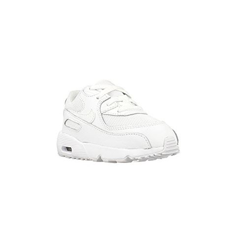 the best attitude aa98d 9f6d9 Nike Air Max 90 Mesh (1.5-9.5) Baby Toddler Shoe - White Image