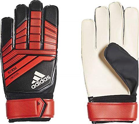 adidas Goalkeeper Gloves Predator Training Team Mode - Black/Red/White Image