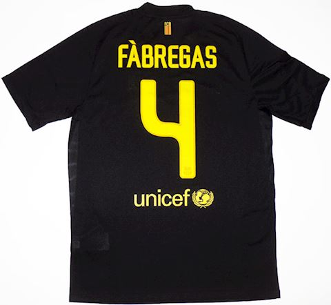 Nike Barcelona Mens SS Away Shirt 2011/12 Image