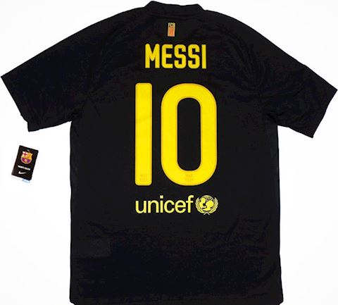 Nike Barcelona Mens SS Away Shirt 2011/12 Image 2