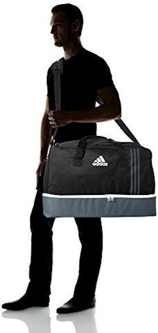 adidas Tiro Team Bag BC Large Black Dark Grey White Image 4