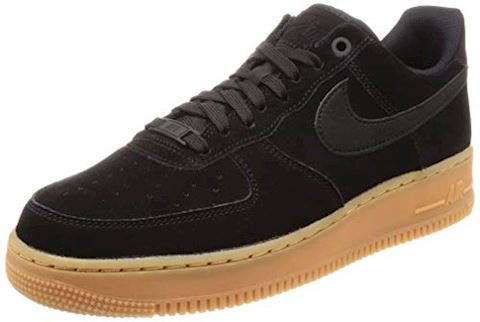 Nike Air Force 1 07 LV8 Suede Men's Shoe - Black Image