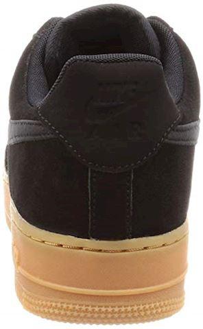 Nike Air Force 1 07 LV8 Suede Men's Shoe - Black Image 2