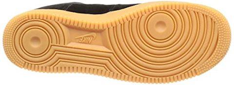 Nike Air Force 1 07 LV8 Suede Men's Shoe - Black Image 3