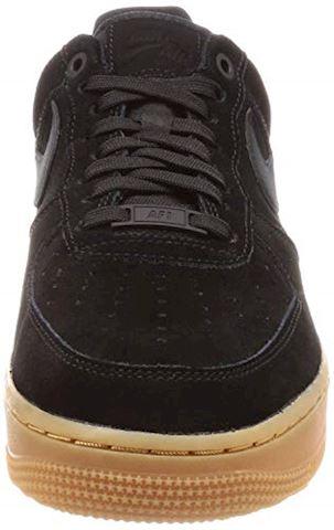 Nike Air Force 1 07 LV8 Suede Men's Shoe - Black Image 4