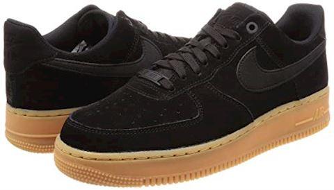 Nike Air Force 1 07 LV8 Suede Men's Shoe - Black Image 5