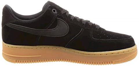 Nike Air Force 1 07 LV8 Suede Men's Shoe - Black Image 6