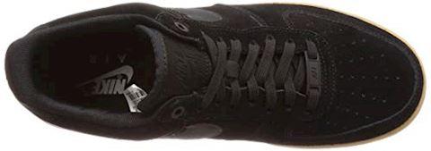Nike Air Force 1 07 LV8 Suede Men's Shoe - Black Image 7