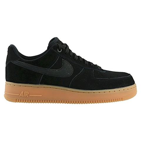 Nike Air Force 1 07 LV8 Suede Men's Shoe - Black Image 8