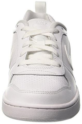 NikeCourt Borough Low Older Kids' Shoe - White Image 4