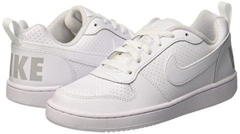 NikeCourt Borough Low Older Kids' Shoe - White Image 5