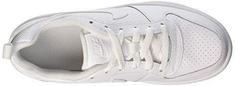 NikeCourt Borough Low Older Kids' Shoe - White Image 7