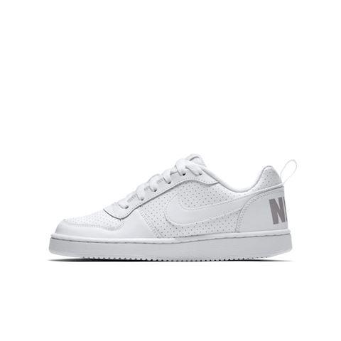 NikeCourt Borough Low Older Kids' Shoe - White Image