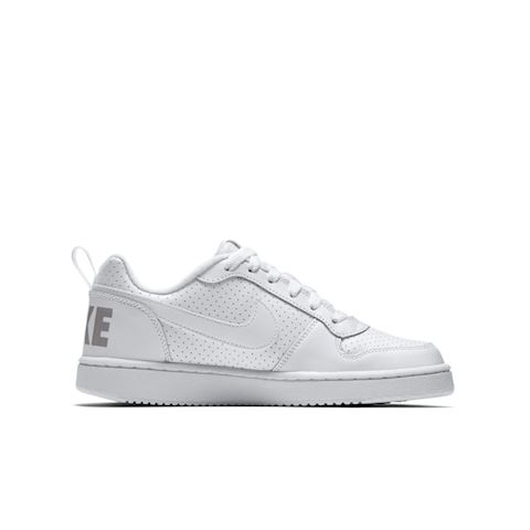 NikeCourt Borough Low Older Kids' Shoe - White Image 3