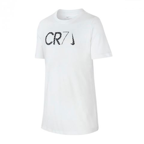 86d66426a27 Nike Dri-FIT CR7 Older Kids (Boys ) Football T-Shirt - White ...