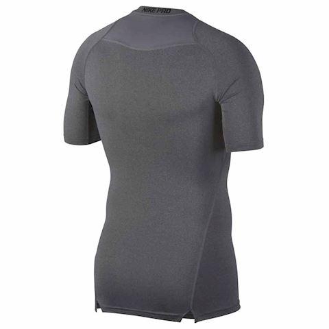 Nike Pro Men's Short-Sleeve Training Top - Grey Image 2