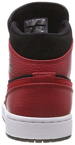 Nike Air Jordan 1 Mid Men's Shoe - Black Image 2