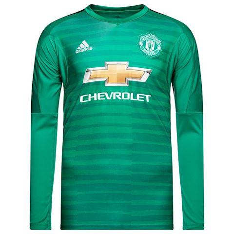 quality design 0e9e0 b66a8 adidas Manchester United Mens LS Goalkeeper Home Shirt 2018/19