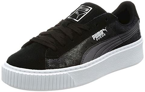 Puma Suede Platform Metallic Safari Women's Trainers Image