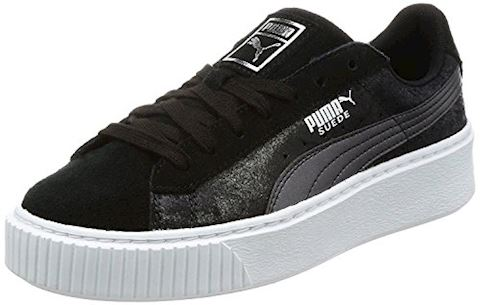 Puma Suede Platform Metallic Safari Women's Trainers Image 14