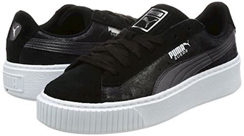 Puma Suede Platform Metallic Safari Women's Trainers Image 5