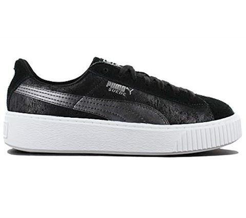 Puma Suede Platform Metallic Safari Women's Trainers Image 8