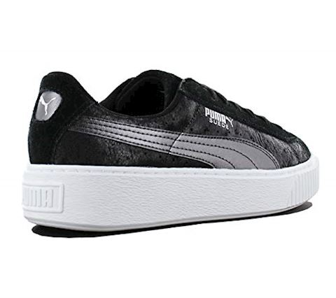 Puma Suede Platform Metallic Safari Women's Trainers Image 10