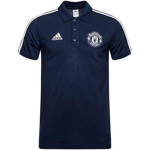 adidas Manchester United 3-Stripes Polo Shirt Image