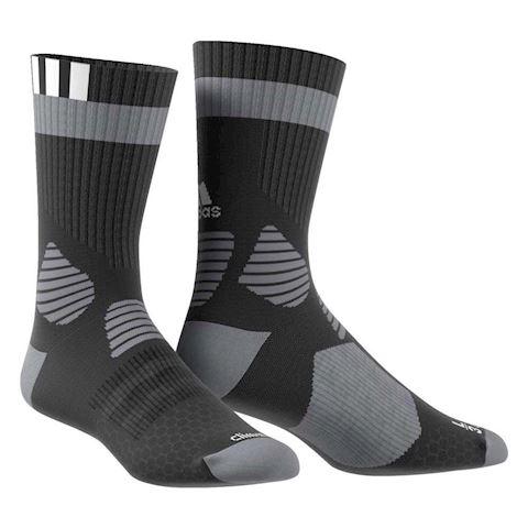 adidas ID Socks Comfort Black White Grey Image