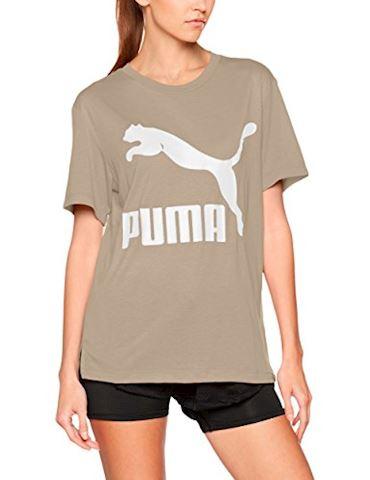 Puma Classics Logo Women's Short Sleeve T-Shirt Image