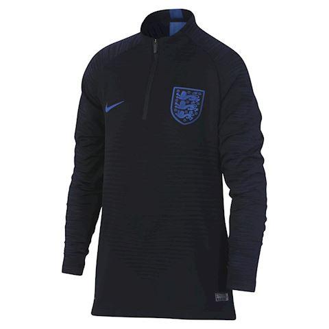 Nike England VaporKnit Strike Drill Older Kids' Long-Sleeve Football Top - Black Image