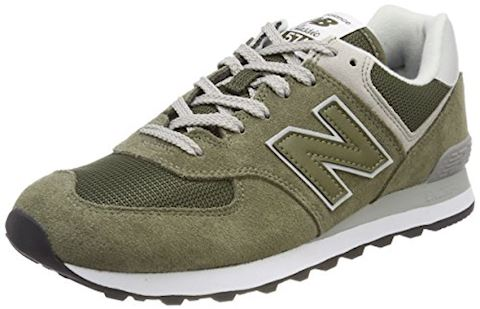 New Balance  ML574  women's Shoes (Trainers) in Green Image