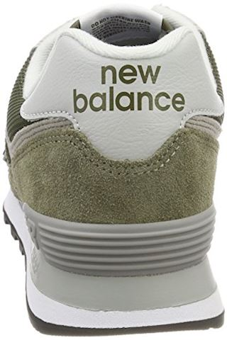New Balance  ML574  women's Shoes (Trainers) in Green Image 2