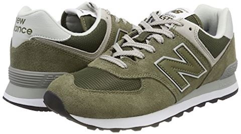 New Balance  ML574  women's Shoes (Trainers) in Green Image 5