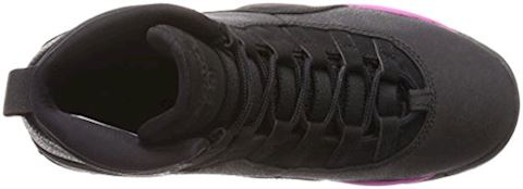 Nike Air Jordan X Retro (3-9) Older Kids'Basketball Shoe - Black Image 6