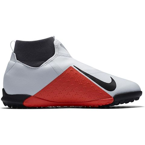 Nike Jr. Phantom Vision Academy Dynamic Fit Younger/Older Kids'Turf Football Shoe - Silver Image